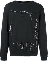 Enfants Riches Deprimes loose thread sweatshirt