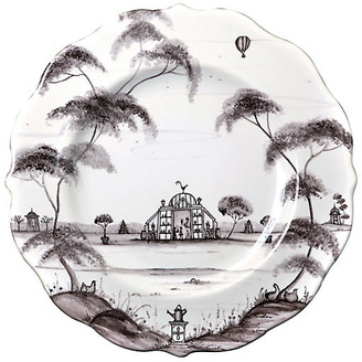 Juliska Country Estate Dessert Plate - White/Black
