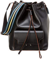 Marni Leather Bucket Tote
