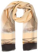 Les Copains Multicolor Silk Scarf