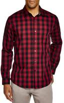 Sovereign Code Hamstead Check Regular Fit Button Down Shirt