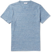 Richard James - Slim-fit Mélange Cotton-jersey T-shirt