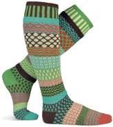 Solmate Socks Mismatched Knee Socks for Men/Women, Lg