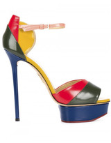 Charlotte Olympia 'Modern Platforms' sandals