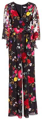 Alice + Olivia Rowley Floral Jumpsuit