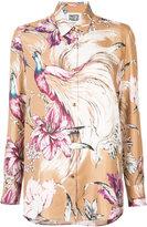 Fausto Puglisi floral print shirt - women - Silk - 42