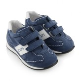 Tod's TodsBlue Suede Velcro Strap Trainers