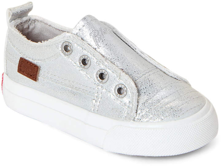 6d64c35e098fa Malibu Kids (Toddler Girls) Silver Spacesuit Play Slip-On Sneakers