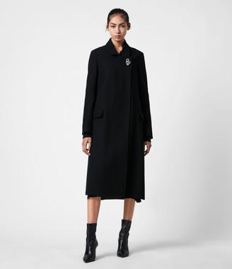 AllSaints Elin Wool Blend Coat