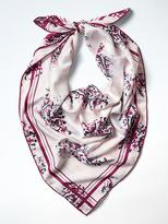 Banana Republic Paisley Large Square Scarf