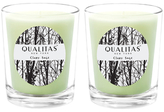 Qualitas Candles Clary Sage Beeswax Candles (Set of 2) (6.5 OZ)