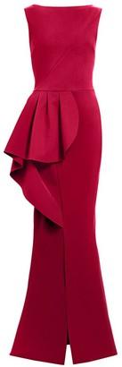 Chiara Boni Quirina Peplum Gown