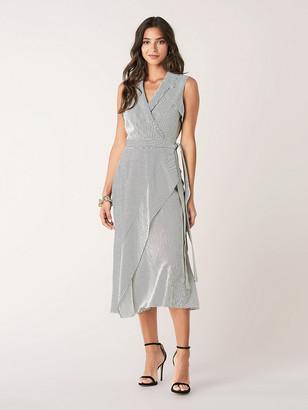 Diane von Furstenberg Charleigh Woven Wrap Dress