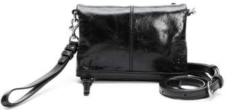 Frye Mel Stadium Leather Crossbody Bag