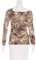 Blumarine Wool Printed Top