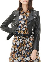 Sandro Vegas Studded Leather Jacket