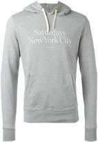 Saturdays NYC Ditch Miller Standard Hooded Sweatshirt - men - Cotton - XL