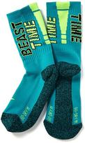 Old Navy Go-Dry Graphic Performance Socks for Boys