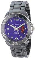 Android Men's Exotic Divemaster Swiss Quartz Ceramic Watch - Purple Dial AD417AKPU