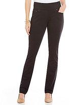 Jag Jeans Peri Pull-On Straight Leg Twill Jeans