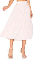 Anine Bing Pleated Midi Skirt