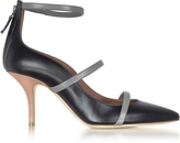 Malone Souliers Color Block Nappa Leather Robyn Pumps