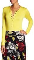 Rachel Pally Nedda Button Front Bodysuit