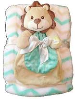 Cutie Pie Baby Baby Gear 2-Piece Set With Lion Blankie and Large Matching Blanket