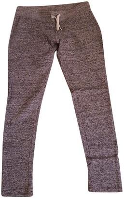 Sweet Pants Grey Cotton Trousers