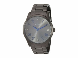 GUESS Men's Analog Watch with Stainless Steel Strap