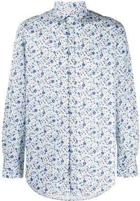 Massimo Alba Floral Print Shirt