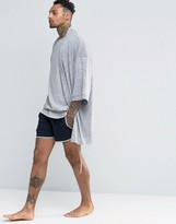 Asos Loungewear Jersey Runner Shorts In Super Short Length