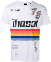 Diesel logo print T-shirt - men - Cotton - L