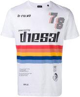 Diesel logo print T-shirt - men - Cotton - S