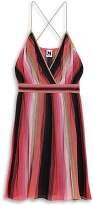 M Missoni Deep V-Neck Mini Dress