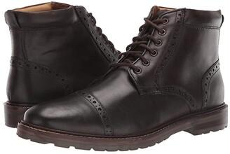 Florsheim Fenway Cap Toe Boot (Brown Chocolate) Men's Boots