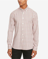 Kenneth Cole Reaction Men's Slim-Fit Plaid Long-Sleeve Shirt