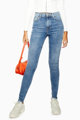 Topshop Womens Tall Jamie Jeans - Mid Stone