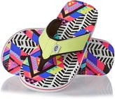 Animal Swish Aop Girls Flip Flops