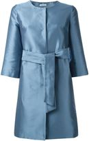 P.A.R.O.S.H. 'Pulp' coat - women - Silk/Polyester - L