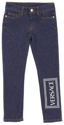 Versace Vintage Logo Jeans (4-14 Years)