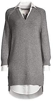 Brochu Walker Women's V-Looker Layered Sweater Dress