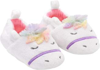 Gold Bug Baby/Toddler Girl Unicorn Slippers