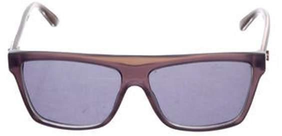 Gucci Acetate Square Sunglasses Aubergine Acetate Square Sunglasses