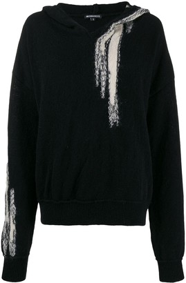 Ann Demeulemeester Hooded Jumper
