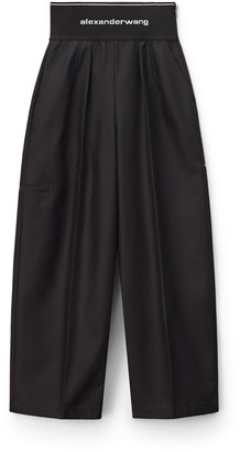 Collection Logo Elastic Carrot Pant