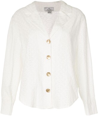 We Are Kindred Bronte broderie anglaise loose shirt