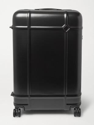 FPM Milano Globe Spinner 76cm Polycarbonate Suitcase - Men - Black