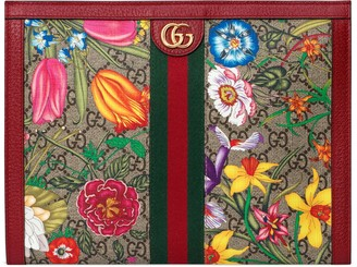 Gucci Ophidia GG Flora pouch