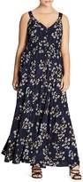 City Chic Pretty Vine Maxi Dress